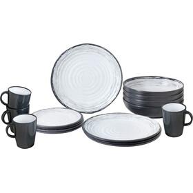 Brunner Lunch Box - gris/blanco